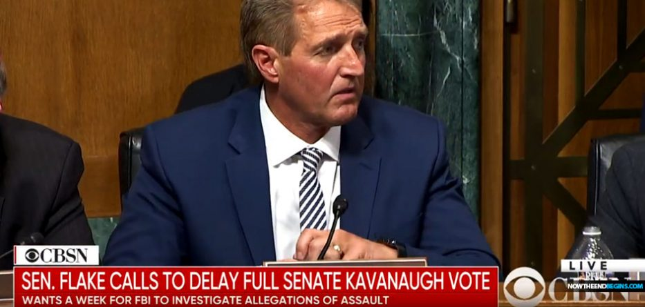 senator-jeff-flake-calls-for-delay-full-senate-judiciary-committee-vote-brett-kavanaugh