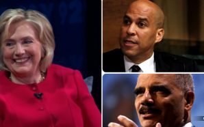hillary-clinton-says-all-blacks-look-alike-liberals-applaud-eric-holder-corey-booker