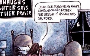 liberal-left-attacks-brett-kavanaugh-daughter-praying
