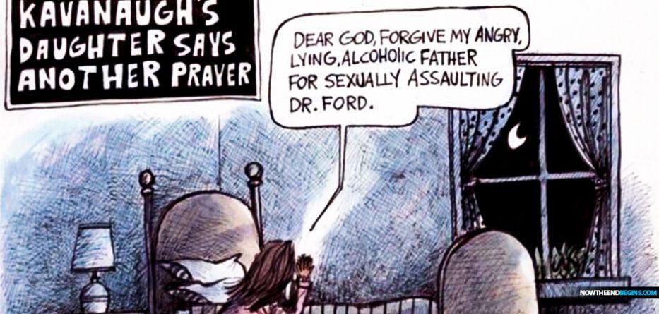 liberal-left-attacks-brett-kavanaugh-daughter-praying