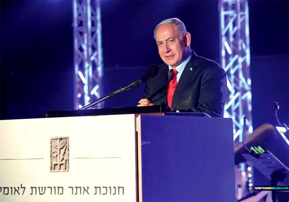 netanyahu-israel-sea-galilee-iranian-army-dip-toes-golan-syria-hezbollah