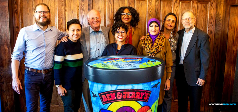 ben-jerrys-anti-semitic-resist-ice-cream-flavor-linda-sarsour-womens-march-louis-farrakhan