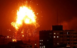 israel-idf-destroys-hamas-run-media-station-gaza-strip