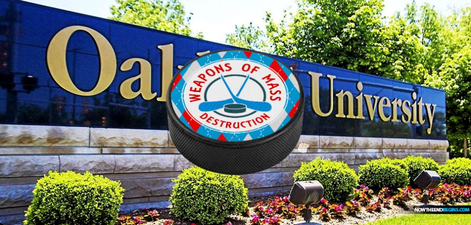 oakland-university-michigan-hands-out-hockey-pucks-to-protect-students-from-active-shooters
