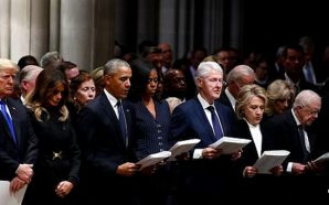 president-trump-called-out-for-not-reciting-apostles-creed-at-bush-funeral