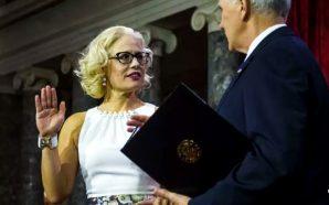 democrat-arizona-senator-krysten-sinema-bisexual-refused-be-sworn-in-oath-office-holy-bible