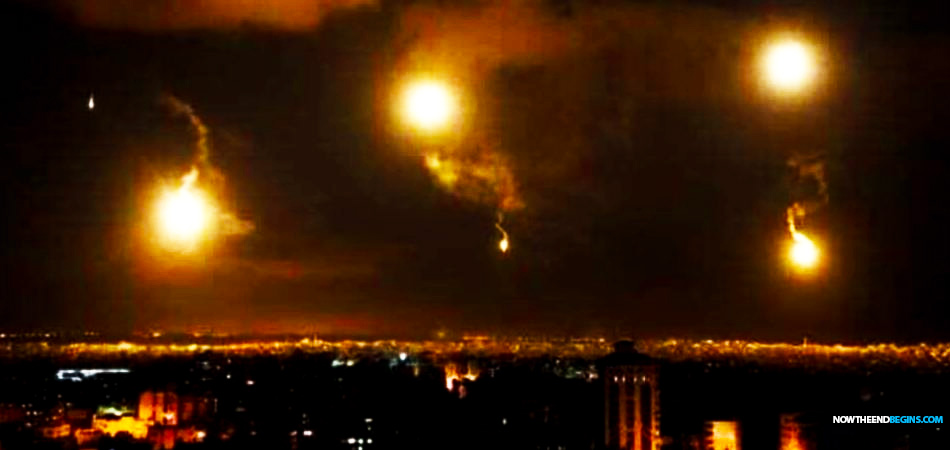 Israel Unleashes An 'Armageddon-Like' Assault On Iranian And Hezbollah Targets In Damascus With Largest Air Strike In Recent Memory • Now The End Begins