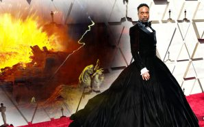 91st-oscars-hollywood-sodom-gomorrah-billy-porter-tuxedo-dress-red-carpet-2019-lgbtqp-gay-homosexual