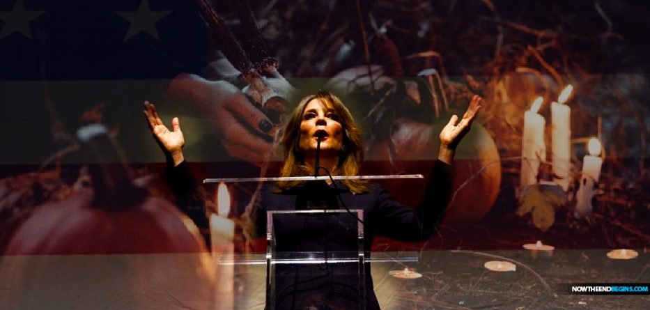 new-age-witch-spiritual-advisor-oprah-marianne-williamson-running-for-president-2020-witchcraft-return-to-love