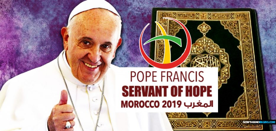 vatican-releases-pope-francis-servant-of-hope-logo-morocco-islam-muslims-2019-chrislam