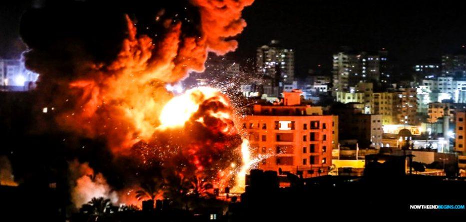 israel-attacks-hamas-headquarters-gaza-strip-idf