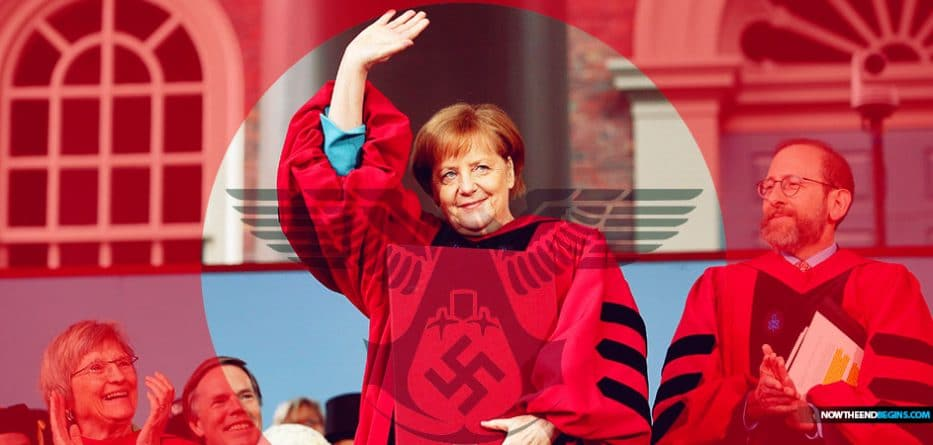 Merkel attacks Trump's unilateral world view in Harvard speech