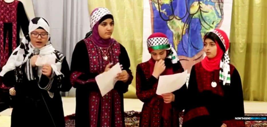 muslim-children-philadelphia-mosque-chant-death-threats-to-infidels-jews-christian-al-aqsa