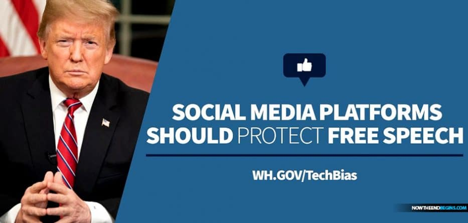 White House launches tool to report censorship on Facebook, YouTube, Instagram, and Twitter 60 'If you suspect political bias caused such an action to be taken against you, share your story with President Trump'