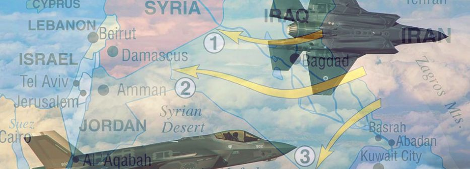 Show of Force: Did Israel Fly New F-35 Adir Stealth Fighters Over Iran?