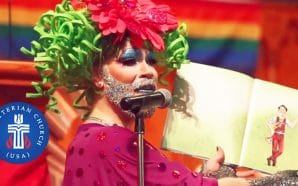 Drag Queen Reads During Worship Service as Cincinnati Church Celebrates Pride Month