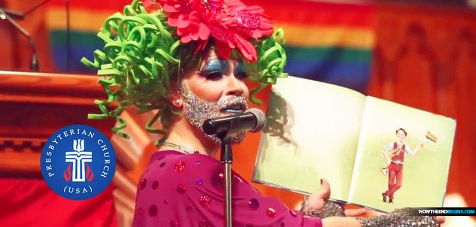 Drag Queen Reads During Worship Service as Cincinnati Church Celebrates Pride Month