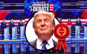 The winner of the first Democratic debate: Donald Trump