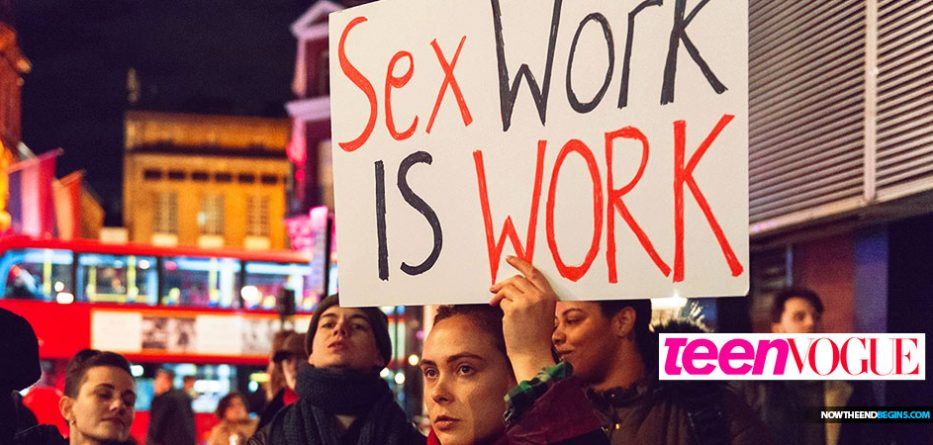 Teen Vogue Publishes Article Promoting Prostitution to Their Young Readers