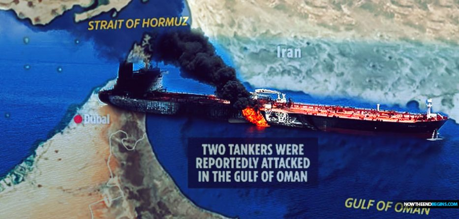 Mideast In Uproar After US-Linked Oil Tanker Reportedly Struck By A