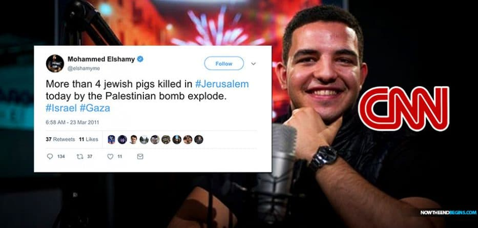CNN Photo Editor Mohammed Elshamy Celebrated Deaths of 'Jewish Pigs' in Anti-Semitic Tweets