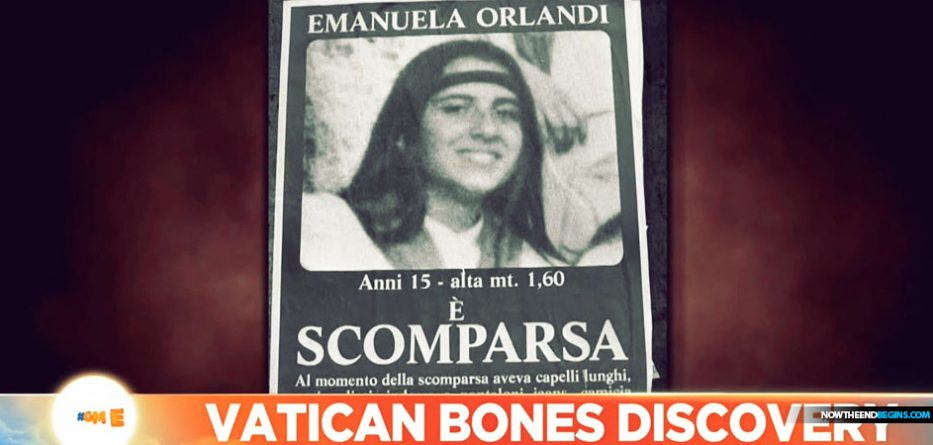 Vatican Mystery: Investigators Discover Thousands of Human Bones Emanuela-orlandi-bones-found-buried-vatican-city-catholic-church-scandal-933x445