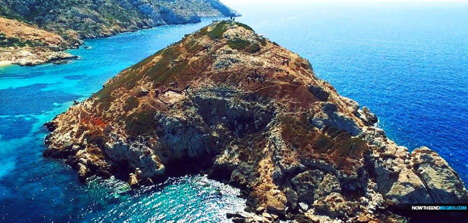 Ancient pyramid found on Aegean island reveals beginnings of ancient Greek civilisation