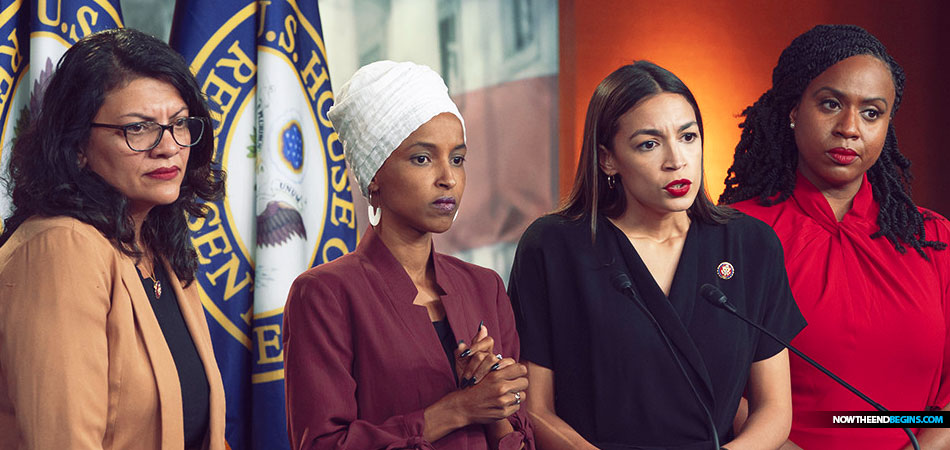 Trump's Tweet Frenzy Aside, The Four Freshman Congresswomen Are Hardcore Radical Socialists Who Want Open Borders And A Palestinian State