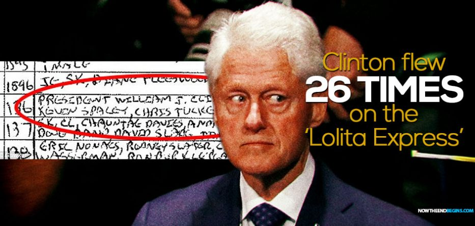 Flight manifests reveal Clinton traveled with Epstein six times ...
