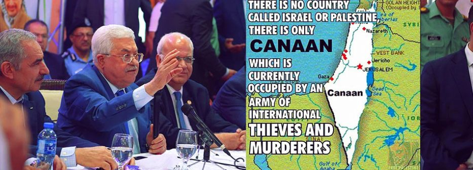 Palestinian Authority President Mahmoud Abbas is claiming that his people are historically at home in Israel.