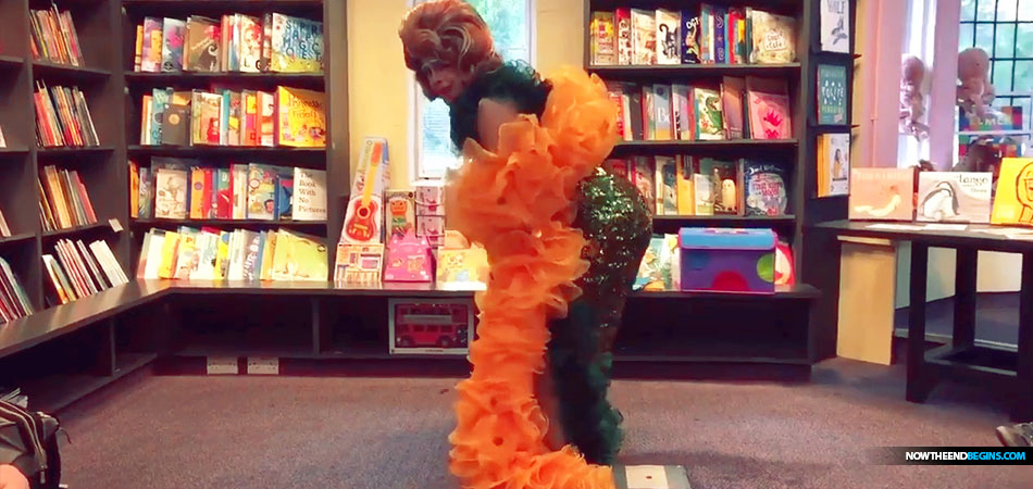 Drag Queen Story Hour Teaches Toddlers How to 'Twerk' at Library Story Time