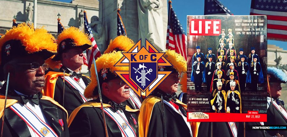 Then I said: Will the Knights of Columbus play a vital part in the attack against the Christians when the U.S. falls?