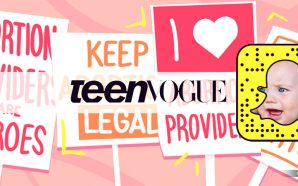 Teen Vogue takes abortion advice for kids to Snapchat