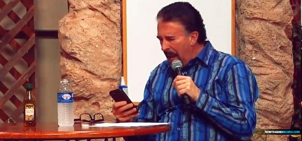 Perry Stone Checks His Phone While Speaking in Tongues