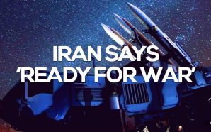 """Iran's president has warned American and other foreign forces to """"stay away"""" from the region, as Tehran paraded long-range missile capable of reaching American bases."""