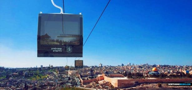 Suspended from giant pylons, entered via elevated, glass-enclosed stations, the cable cars will swoop down from a Jewish neighborhood in the western part of Jerusalem to Mount Zion. They will skirt, where possible, Jewish grave sites in acknowledgment of biblical prohibitions about passing over cemeteries.