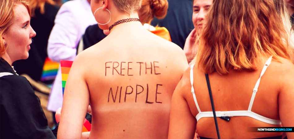 Free the nipple: Going topless effectively legalized in six states