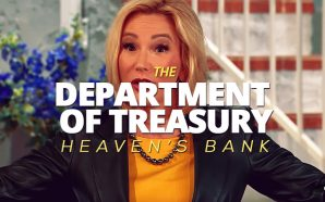 Paula White tells Jim Bakker 'Every treasure you give here on earth is being stored up in Heaven. There is a Department of Treasury up in Heaven'