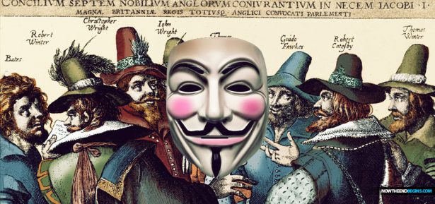 Jesuits hired Guy Fawkes to kill King James Bible on November 5, 1605