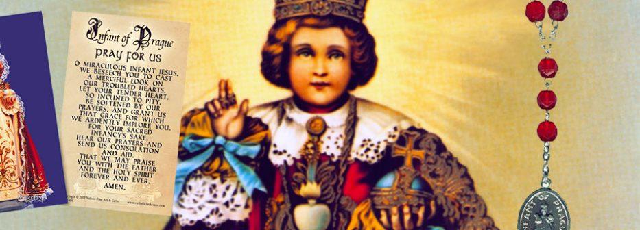 Pray the Holy Infant of Prague nine-day novena, Dec. 16-24