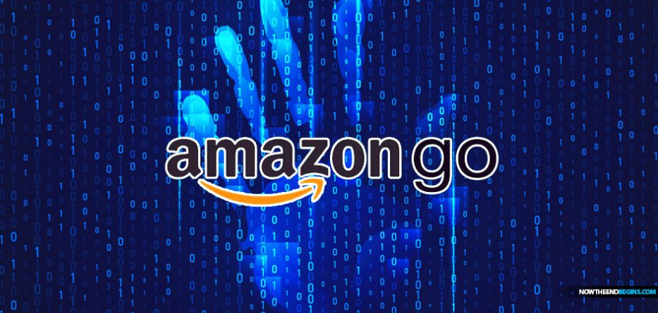 Amazon Go and the Mark of the Beast 666 Palm scanner