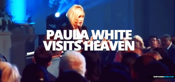 Presidential spiritual adviser Paula White claims to have recently been transported to the Throne Room of Heaven, where she received a new mantle and anointing from God.