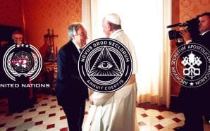 Pope Francis on Sunday added his voice to a call by United Nations Secretary-General Antonio Guterres for an end to global conflict so all resources can focus on fighting the Chinese coronavirus pandemic. New World Order.