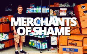 Profit pirates Matt Colvin and brother Noah hoarding hand sanitizer and toilet paper during coronavirus outbreak