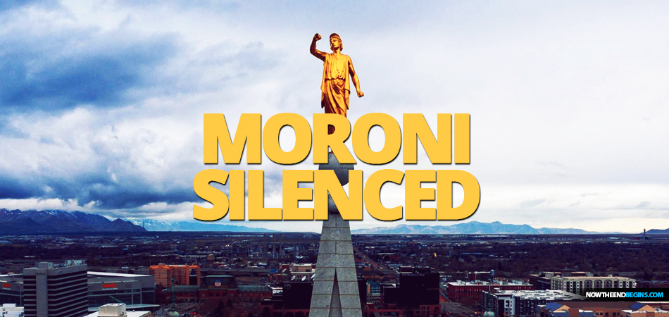 Utah earthquake causes Angel Moroni on Salt Lake Mormon Temple to lose his trumpet