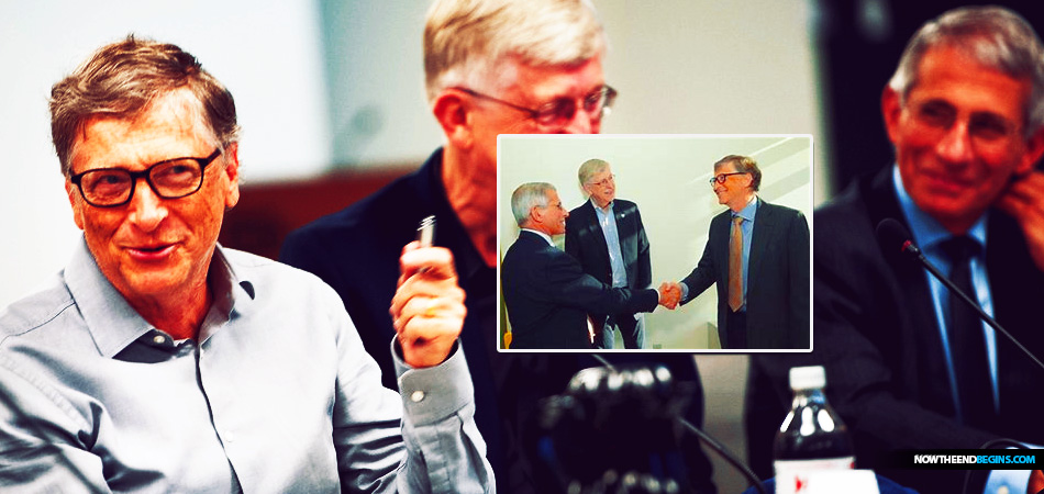 """Dr. Anthony Fauci, who has become a beloved doom prophet fomenting mass hysteria among the American public amidst the coronavirus pandemic, once worked with technocratic oligarch Bill Gates on his """"Global Vaccine Action Plan."""" Anthony Fauci Sets Stage For Mandatory COVID-19 Vaccine"""