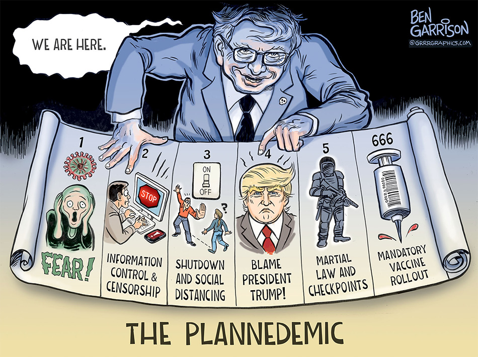 Bill Gates and the elites of the New World Order have brought us the Plannedemic, the 'new normal', and it will not be done until everyone on earth has been given a vaccination and an ID2020 digital ID