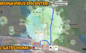 EvergreenHealth hospital in Kirkland, Washington, is at the center of the coronavirus outbreak in the United States, due to the fact that the state is home to the largest cluster of COVID-19 patients in the country. Evergreen Health is 10 miles from Bill Gates home in Medina.