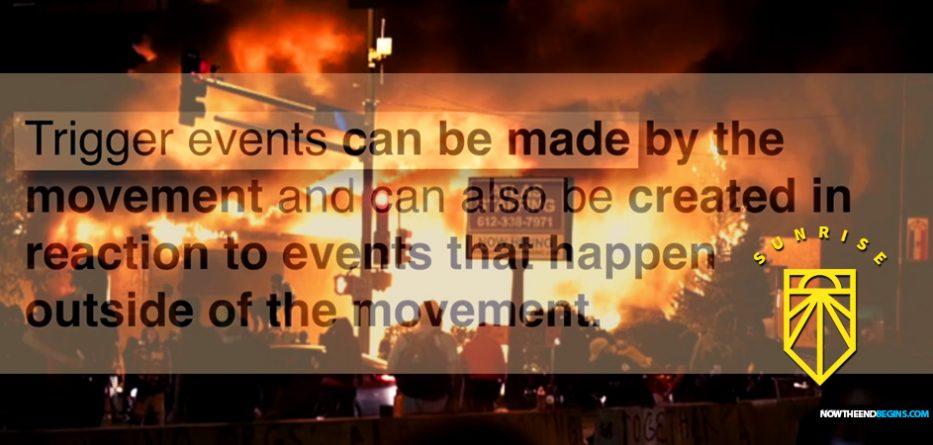 sunrise-movement-minneapolis-riots-preplanned-george-soros-open-society-foundations