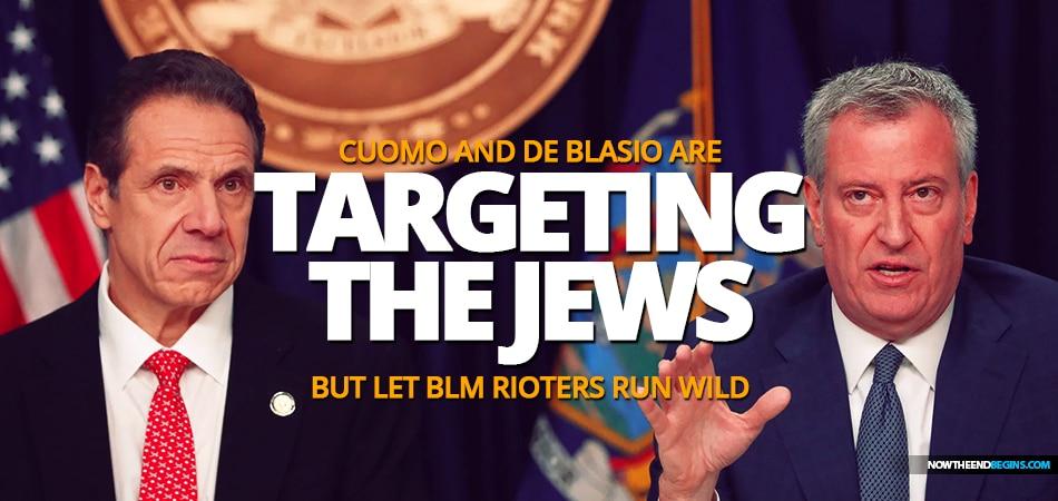 cuomo-de-blasio-targeting-orthodox-jews-covid-lockdown-but-let-blm-black-lives-matter-terrorists-run-wild